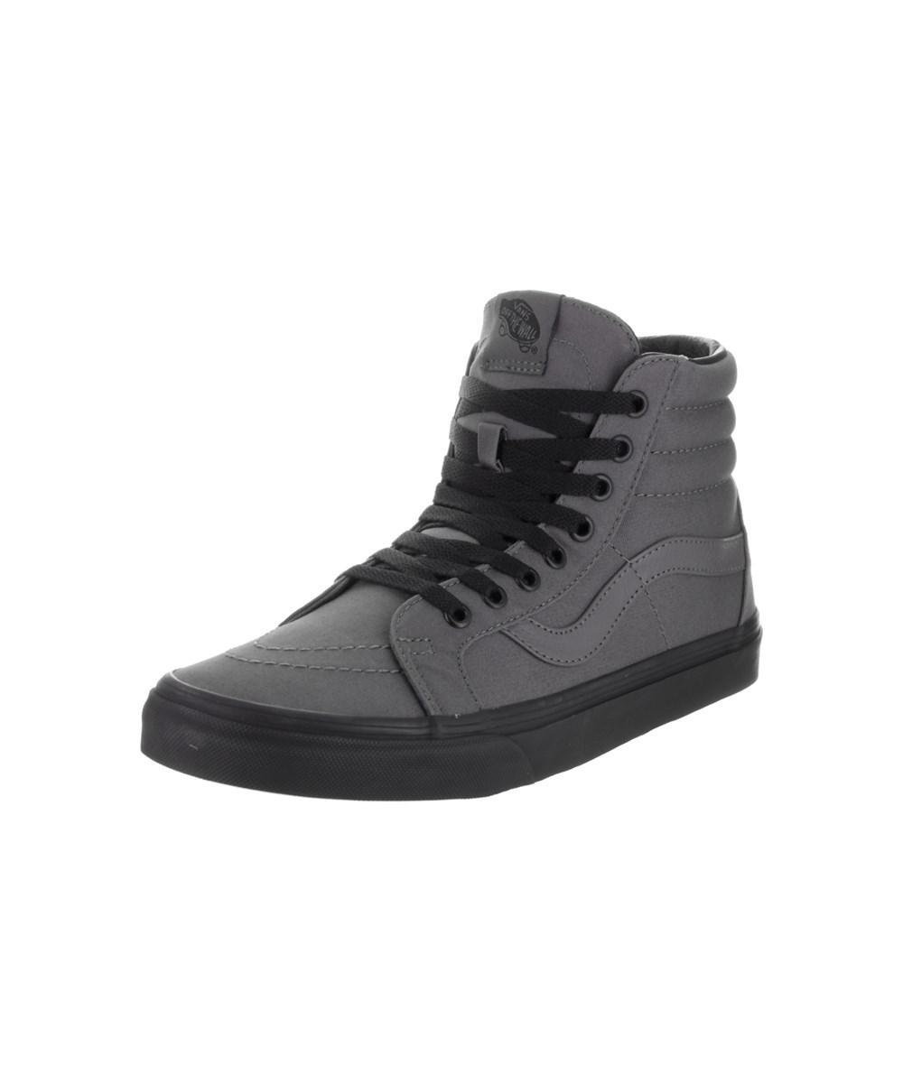 d7c3c034bd Lyst - Vans Unisex Sk8-hi Reissue (black Gum) Skate Shoe in Black