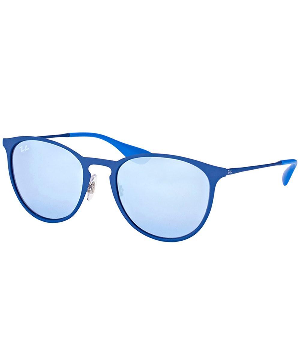b9d1d35df7 70173 0c7a8 sale lyst ray ban rb3539 90221u erika metal rubber electric  blue round 8b0a2 7e4d3 ...