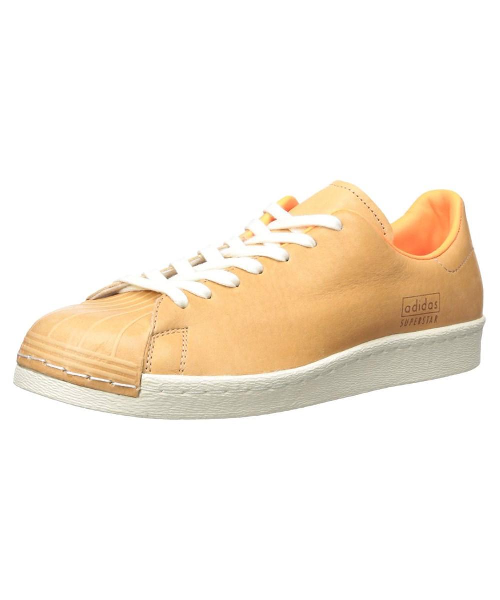 b981009d0181 Lyst - Adidas Originals Men s Superstar 80s Clean in Orange for Men