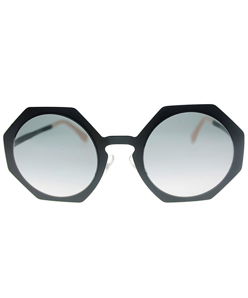 4875e67679 Lyst - Fendi Facets Ff 0152s 003 Matte Black Fashion Sunglasses in Black