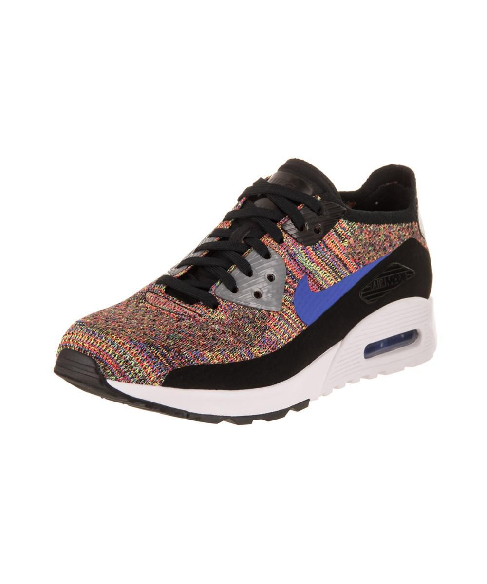 free shipping 34e58 edc6d Nike. Black Women s Air Max 90 Ultra 2.0 Flyknit Running Shoe