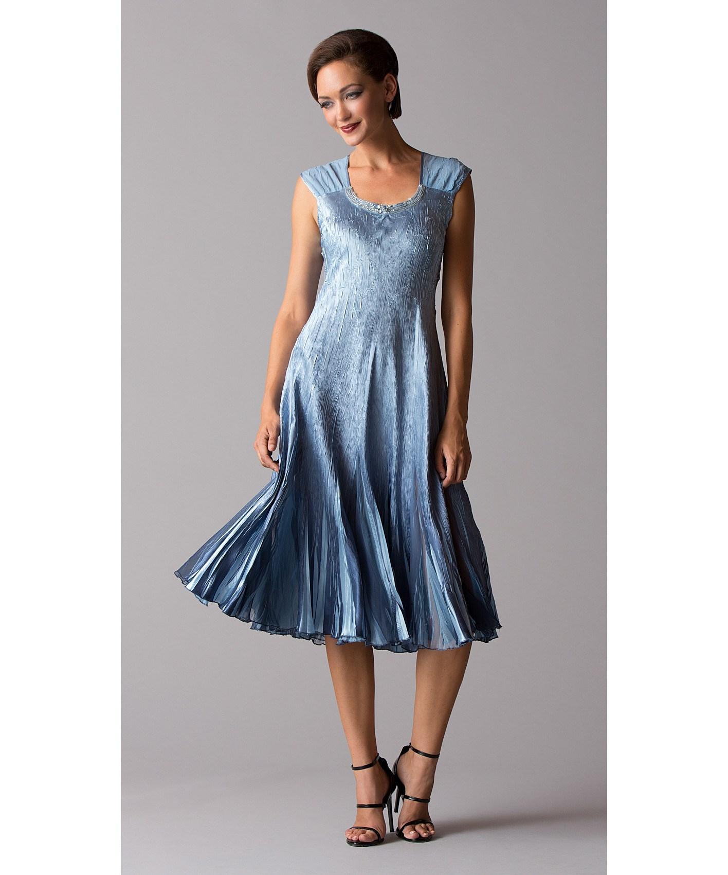 Komarov 2pc Jacket/dress Set in Blue   Lyst