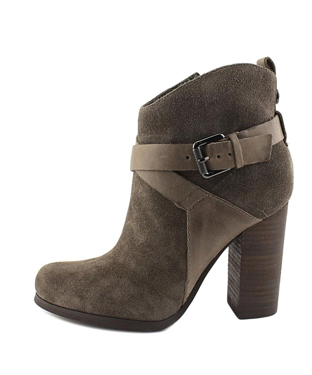 G by Guess Womens Lora Leather Closed Toe Ankle Fashion Boots