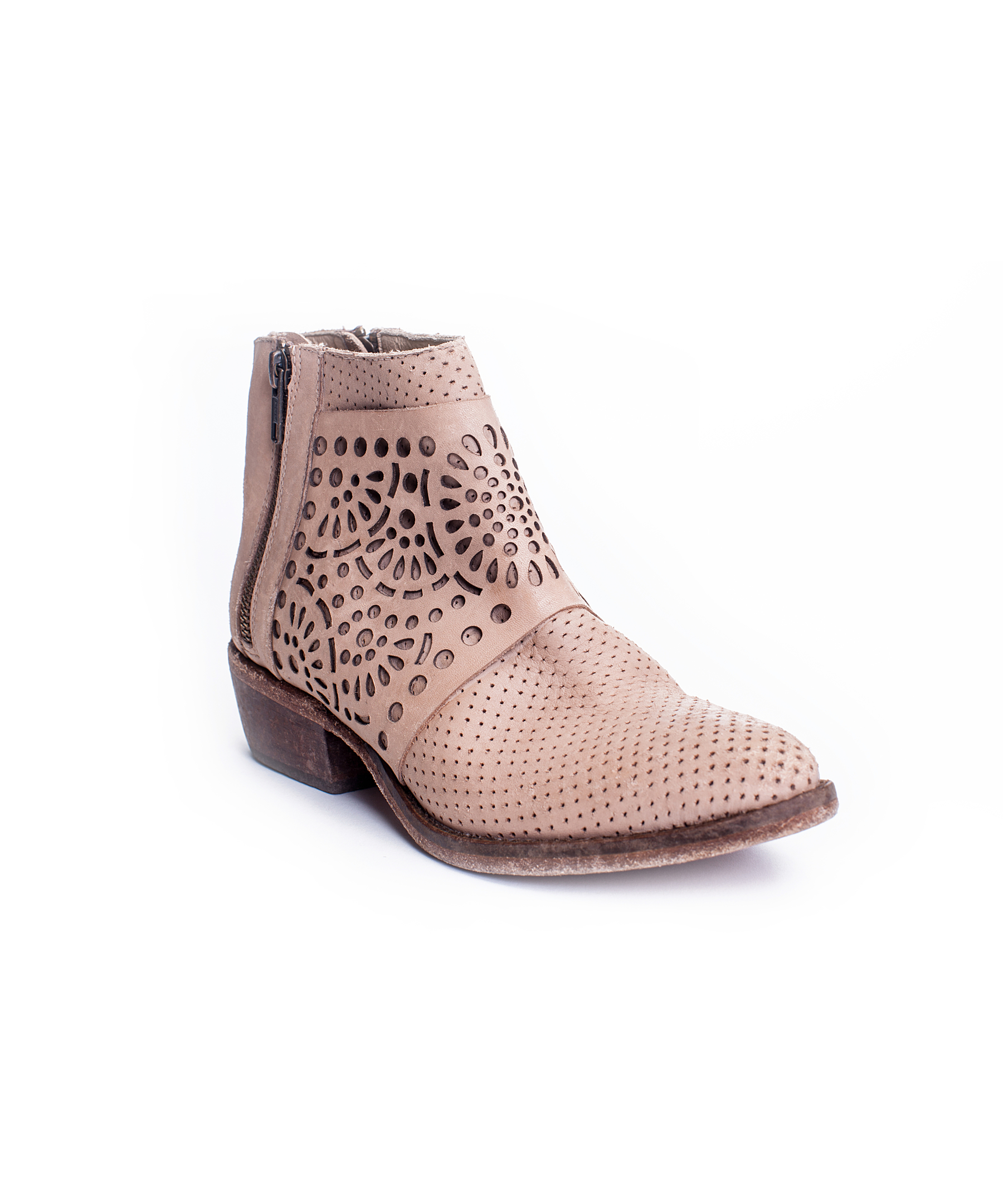 matisse raleigh ankle boots in pink lyst