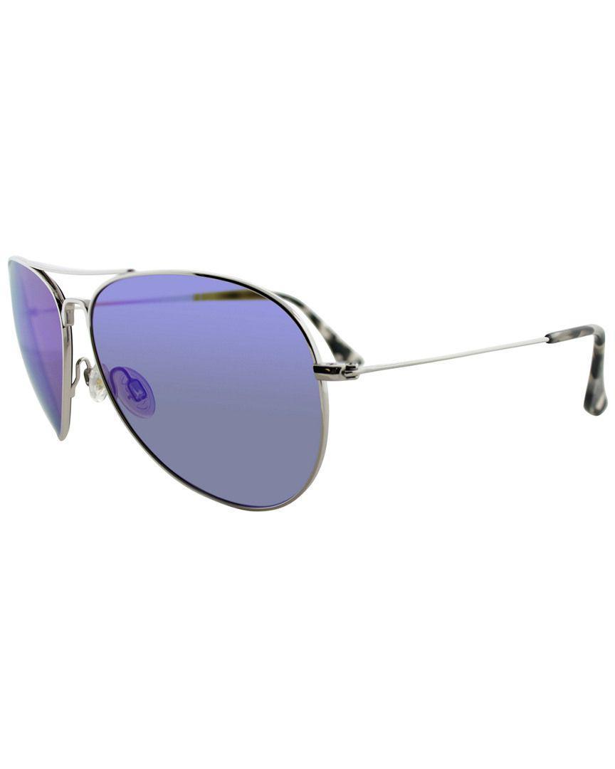 6e3ffcefe4b ... Blue Unisex Mavericks 61mm Polarized Sunglasses for Men - Lyst. View  fullscreen