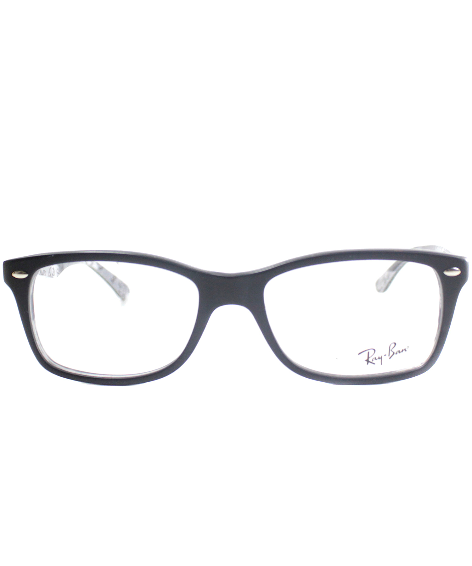Ray Ban Glasses Frames China : Ray-ban Rectangle Plastic Eyeglasses in Black - Save 24% ...