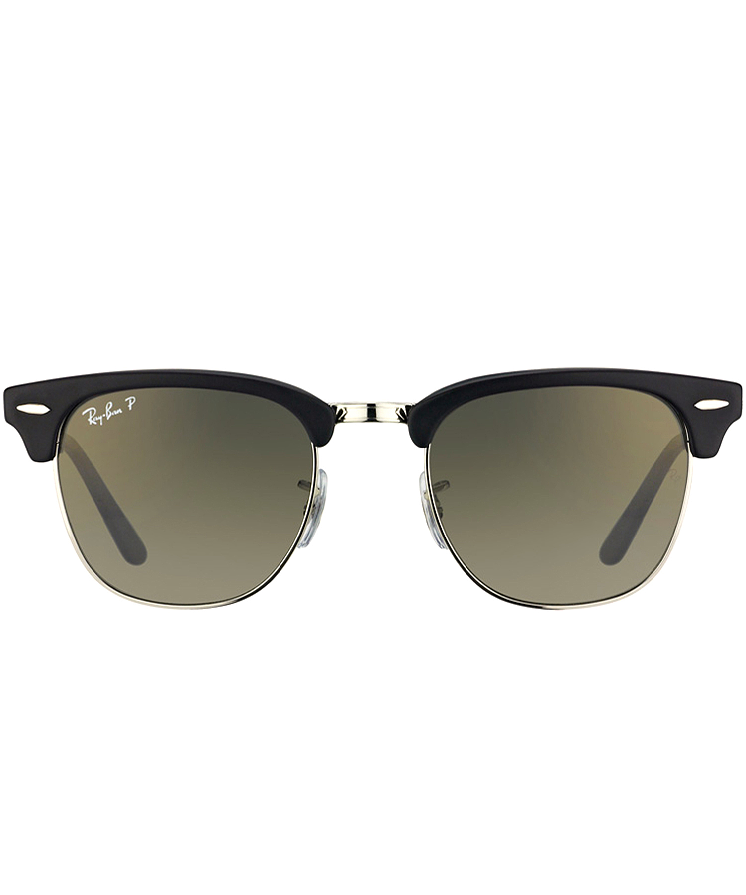 ray ban foldable clubmaster plastic sunglasses in black lyst. Black Bedroom Furniture Sets. Home Design Ideas