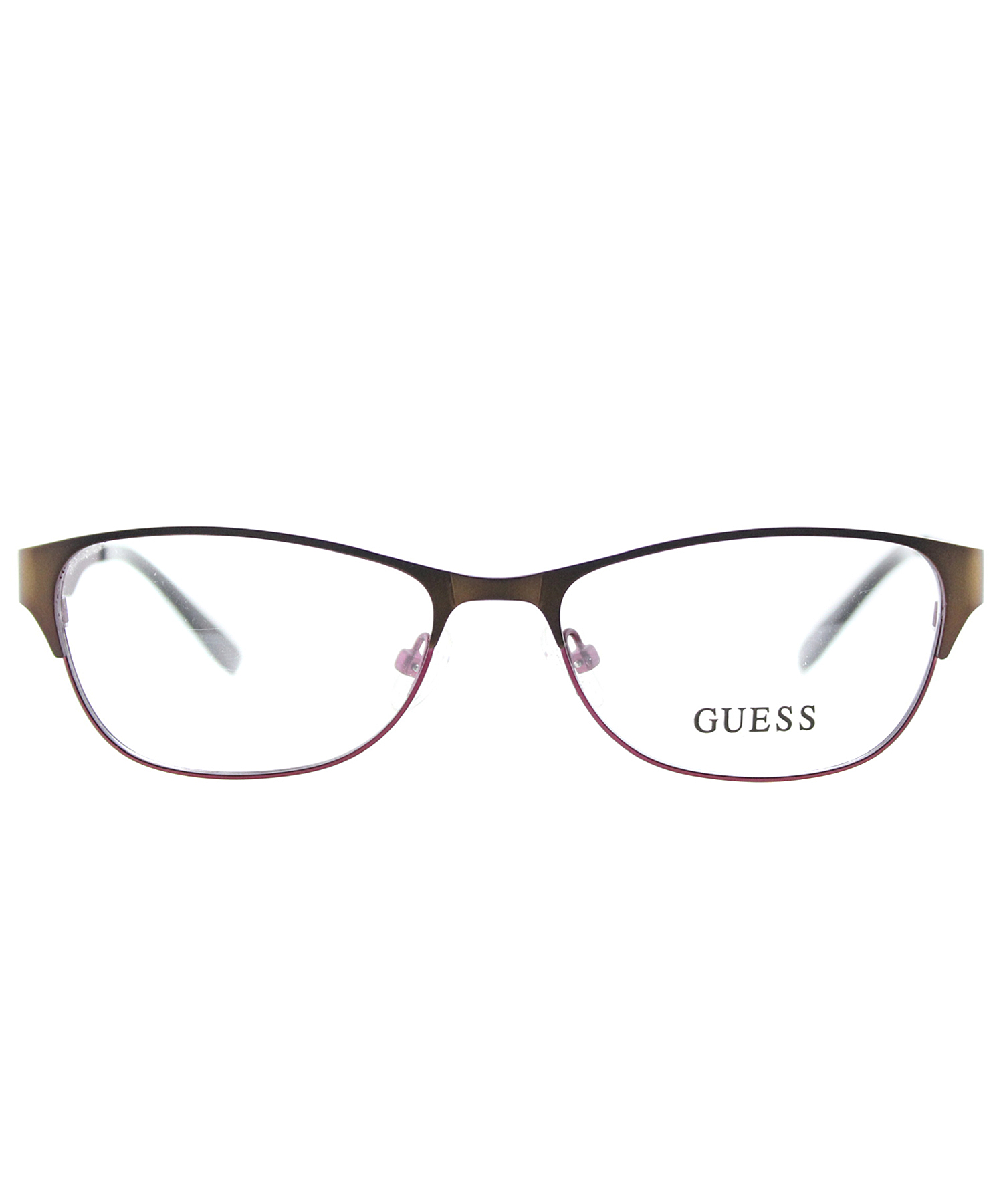 Guess Cat-eye Metal Eyeglasses in Brown - Save 19% Lyst