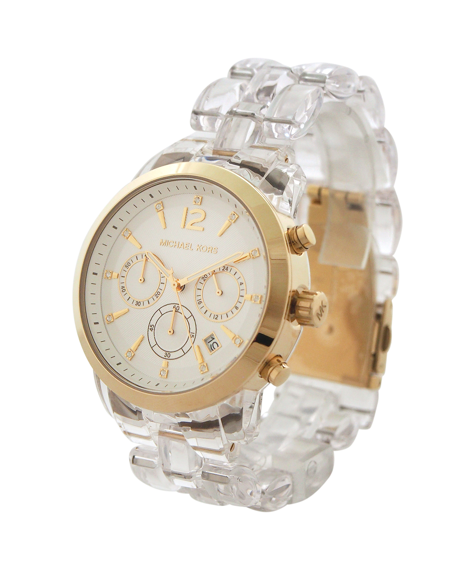 e8600bc4cacc Gallery. Previously sold at  Bluefly · Men s Michael Kors Chronograph