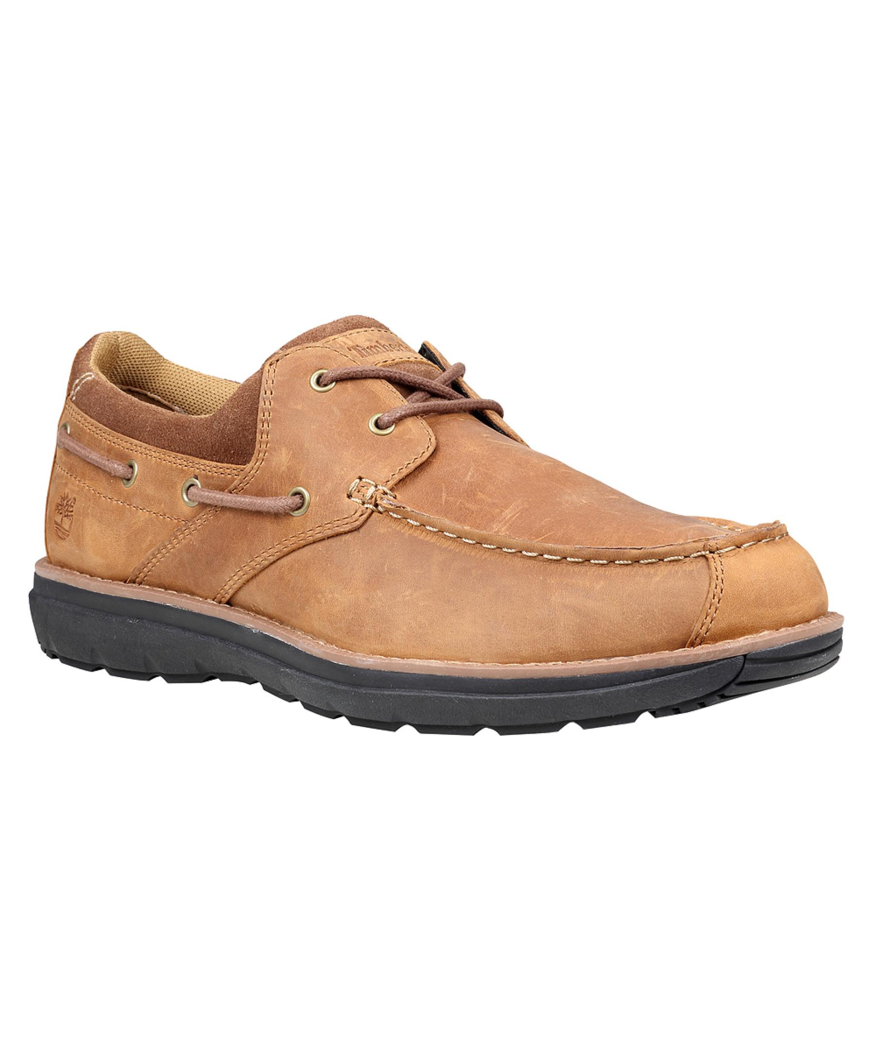 Timberland Menu0026#39;s Barrett Park 2-eye Boat Athletic Boating Shoes In Beige For Men | Lyst