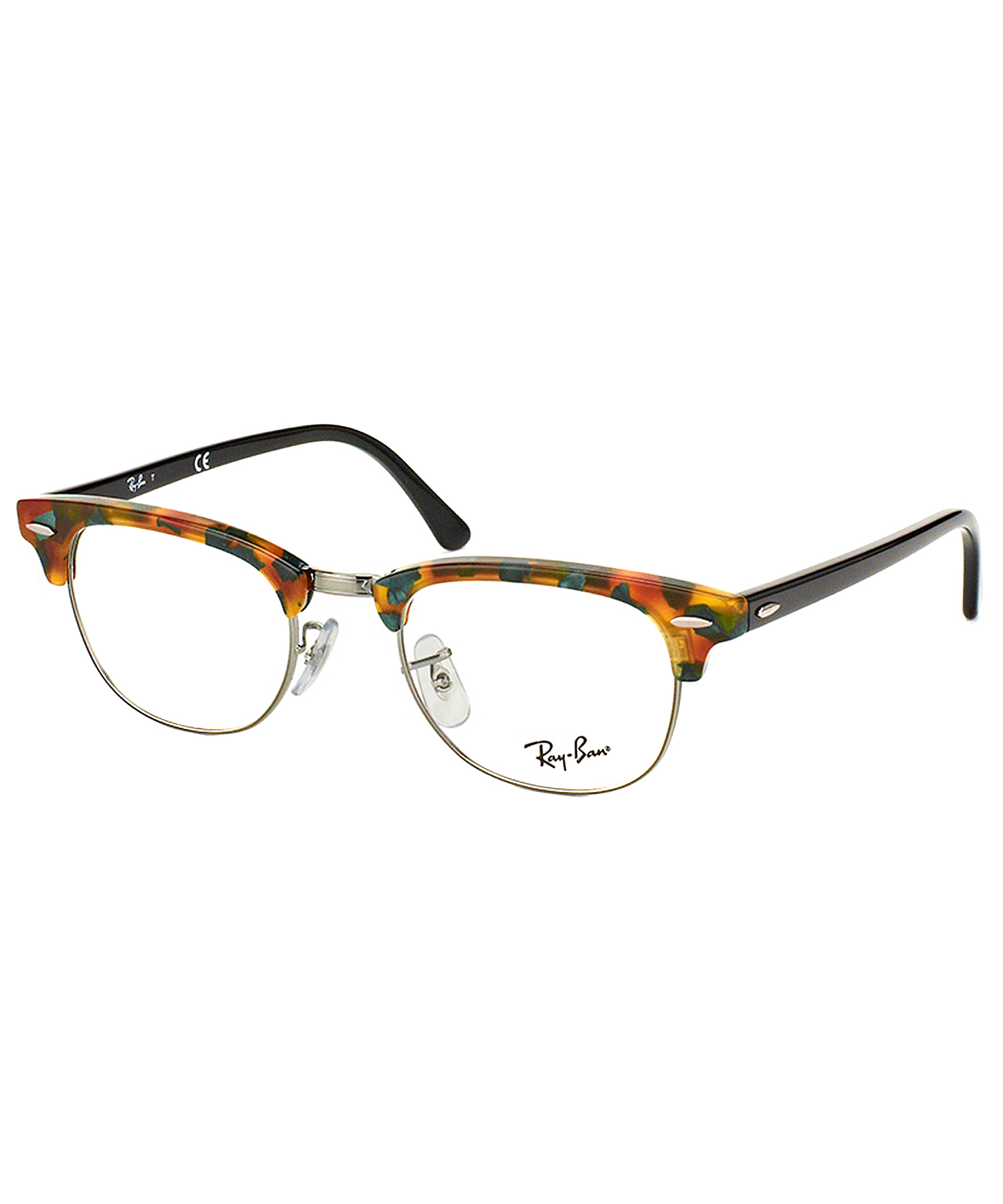 Ray-ban Clubmaster Plastic Eyeglasses in Green Lyst