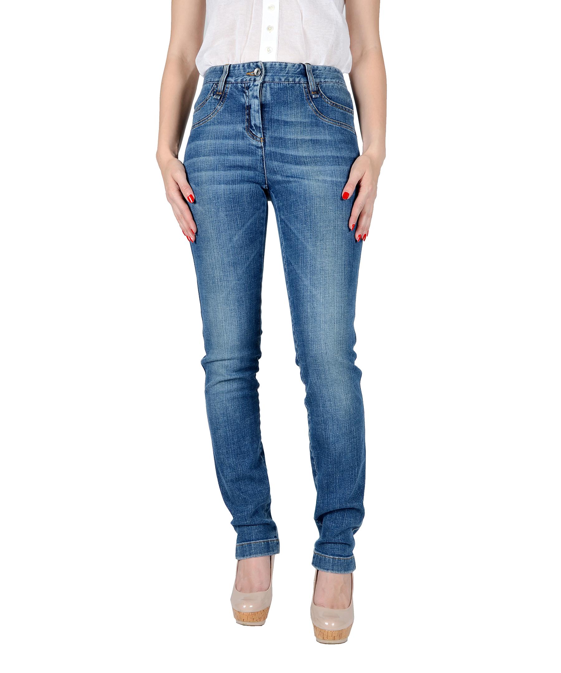 dolce gabbana skinny denim jeans in blue lyst. Black Bedroom Furniture Sets. Home Design Ideas