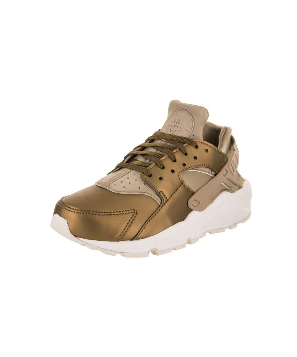 f2f90690267 Lyst - Nike Women s Air Huarache Run Prm Txt Running Shoe in Natural