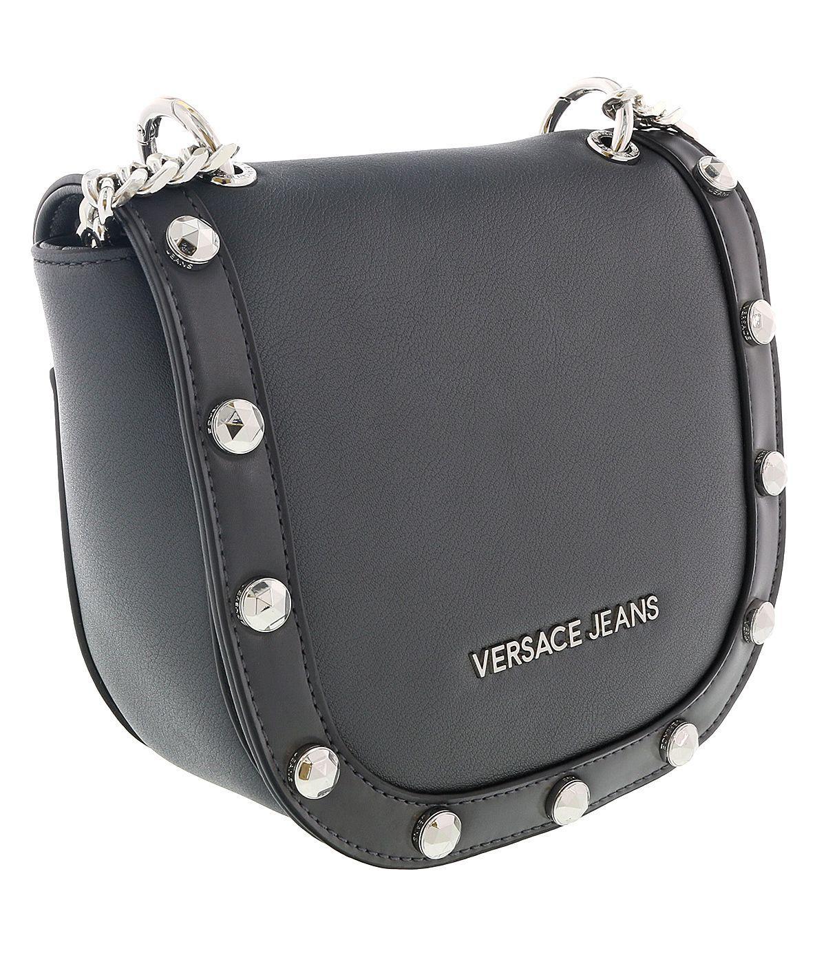 8eb9626e6899 Lyst - Versace Ee1vsbbc1 E829 Dark Grey Shoulder Bag in Gray