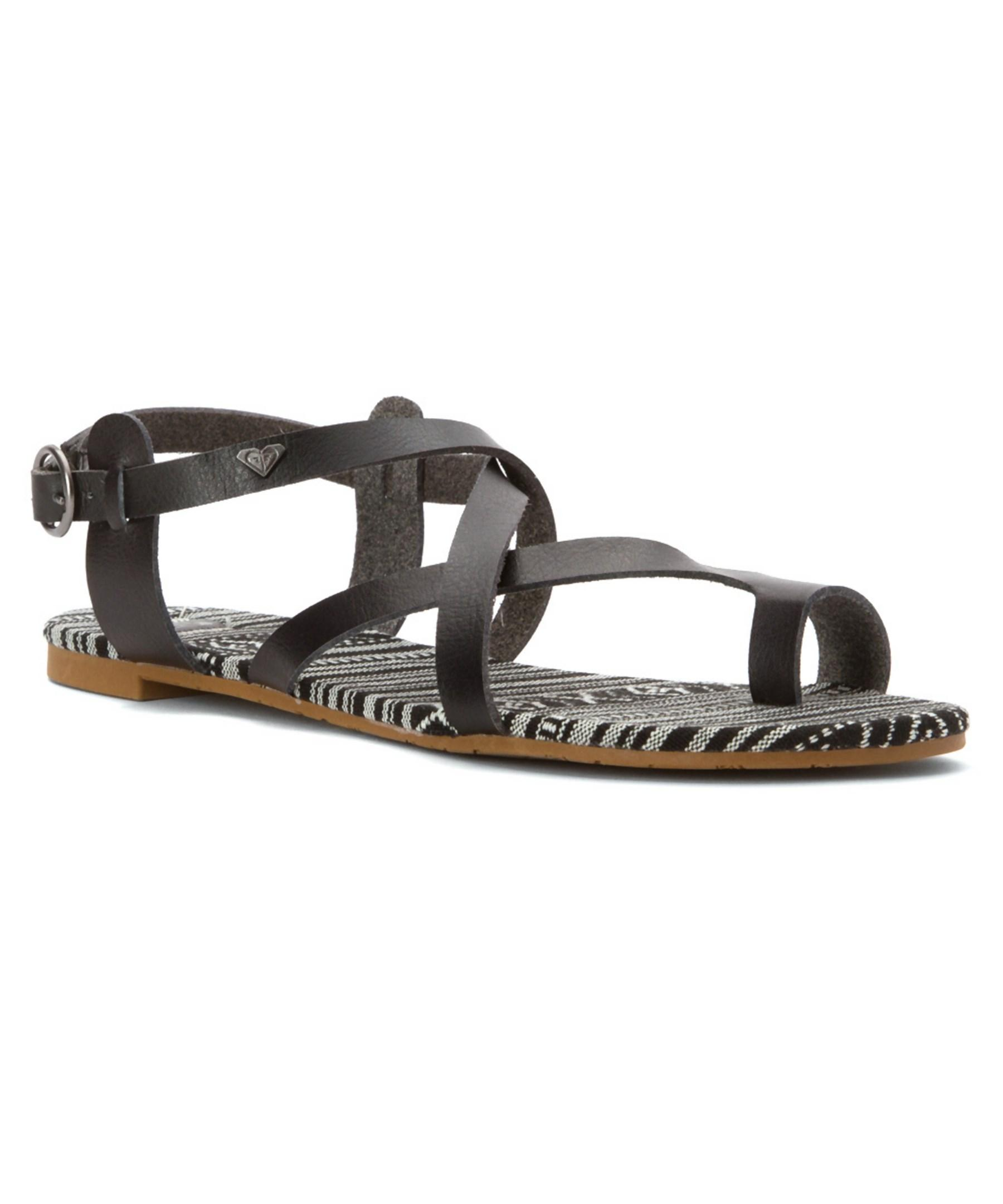 Roxy Women S Marrakech Sandals In Black Lyst