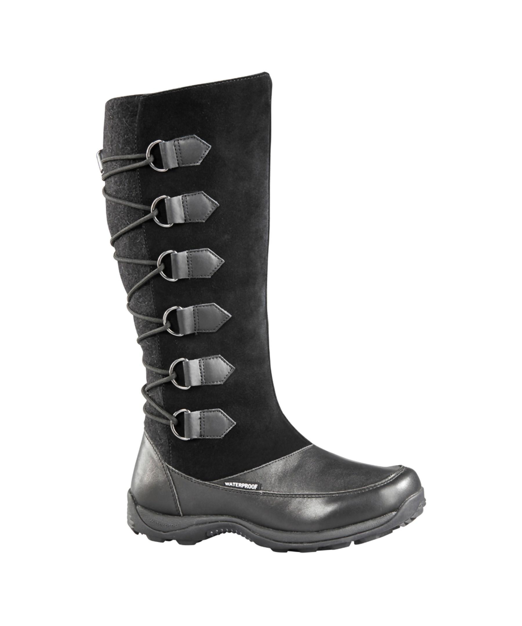 baffin s chamonix snow boots in black lyst