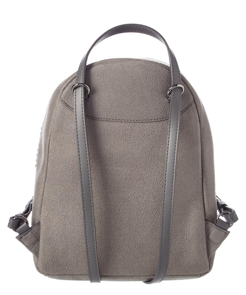 e9ce31894b24 Lyst - Stella Mccartney Mini Falabella Shaggy Deer Backpack in Gray - Save  13.28947368421052%
