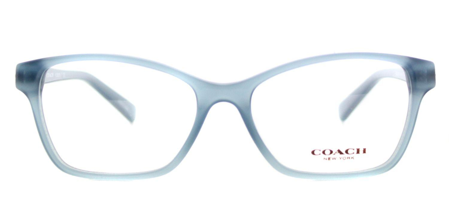 05a103e419e COACH - Hc 6091b 5399 53mm Blue Square Eyeglasses - Lyst. View fullscreen