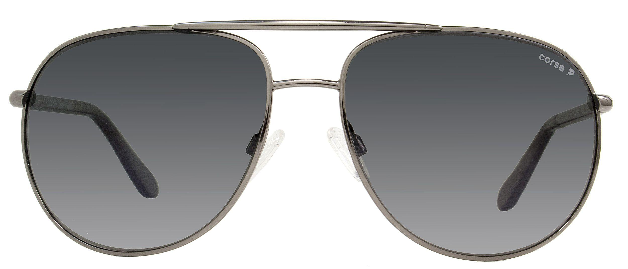2c3e2e26cf1 ... Corsa Aviator Sunglasses Marko C06 Gunmetal carbon Fiber Polarized for  Men. View fullscreen