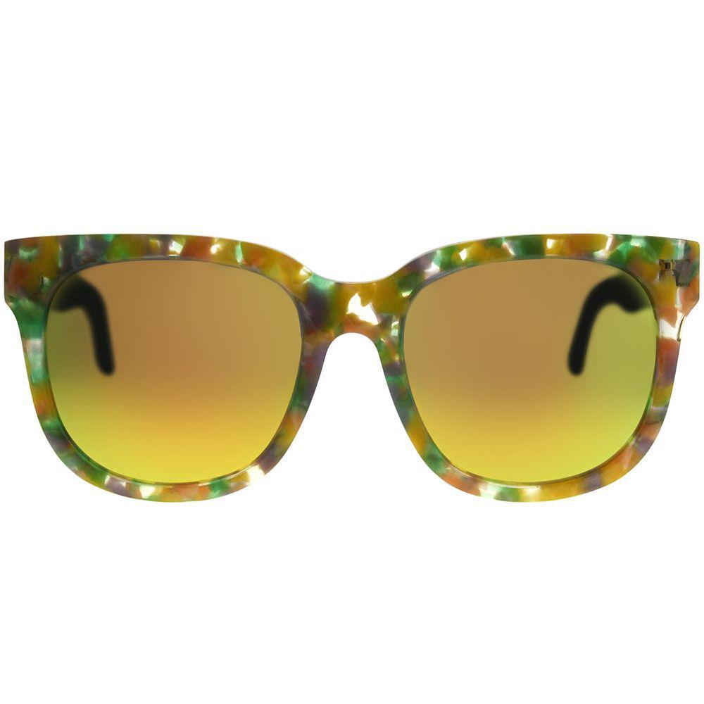 995c61d5bdc1 Gentle Monster - Gms Didi.d Fd1 M Yellow Marble Square Sunglasses - Lyst.  View fullscreen