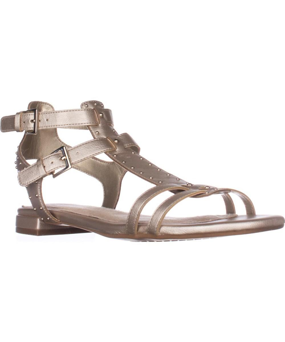 Aerosoles. Women's Metallic Showdown Gladiator Sandals, Gold