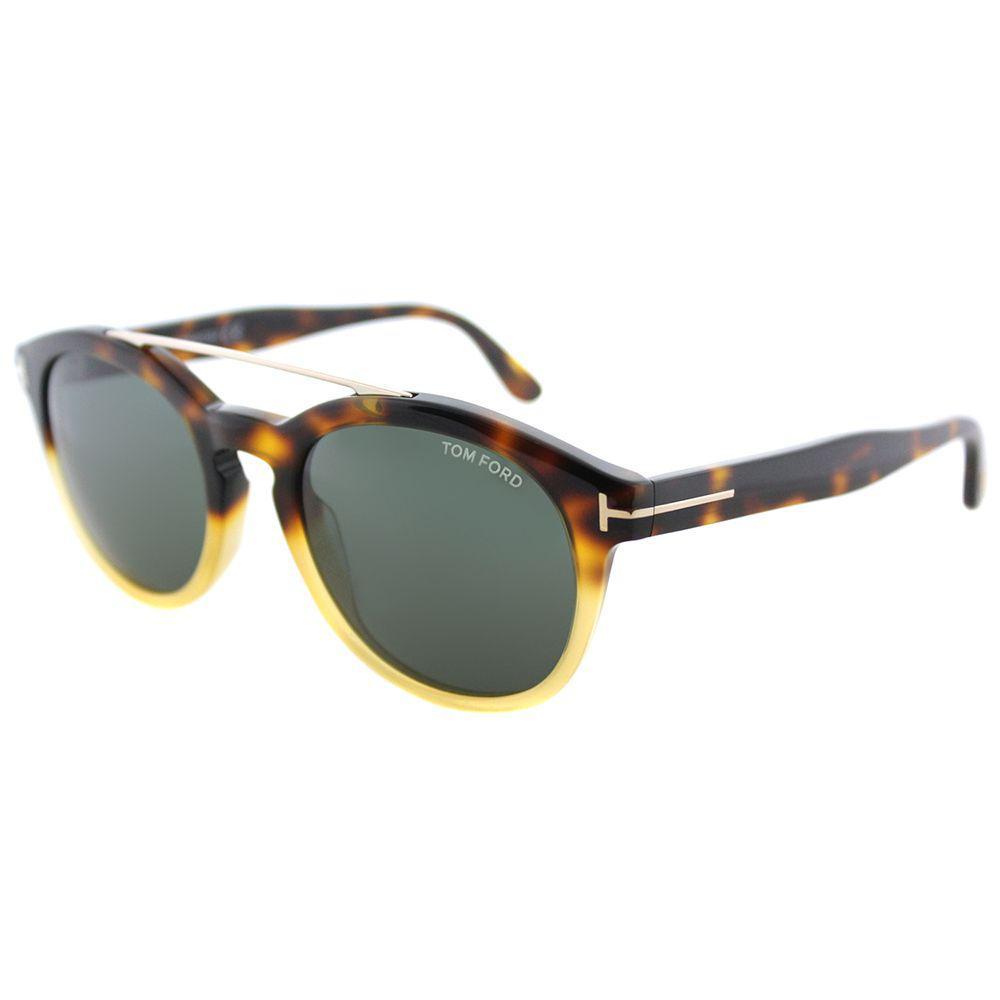 676d38e688 Tom Ford - Multicolor Newman Tf 515 56n Havana Gradient Round Sunglasses -  Lyst. View fullscreen