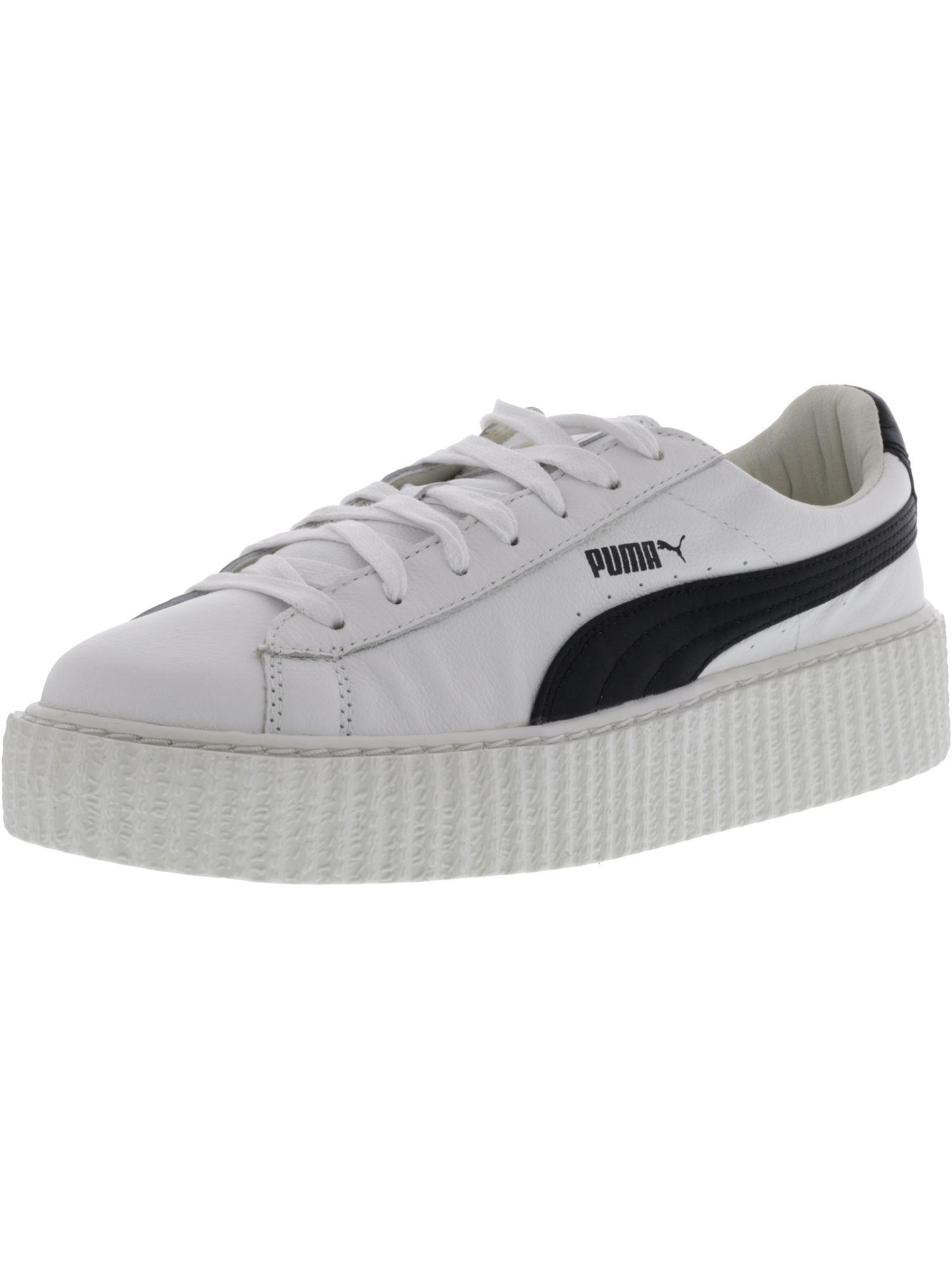 1f25daa1a7fb70 Lyst - Puma Womens Creeper Low Top Lace Up Fashion Sneakers in White ...
