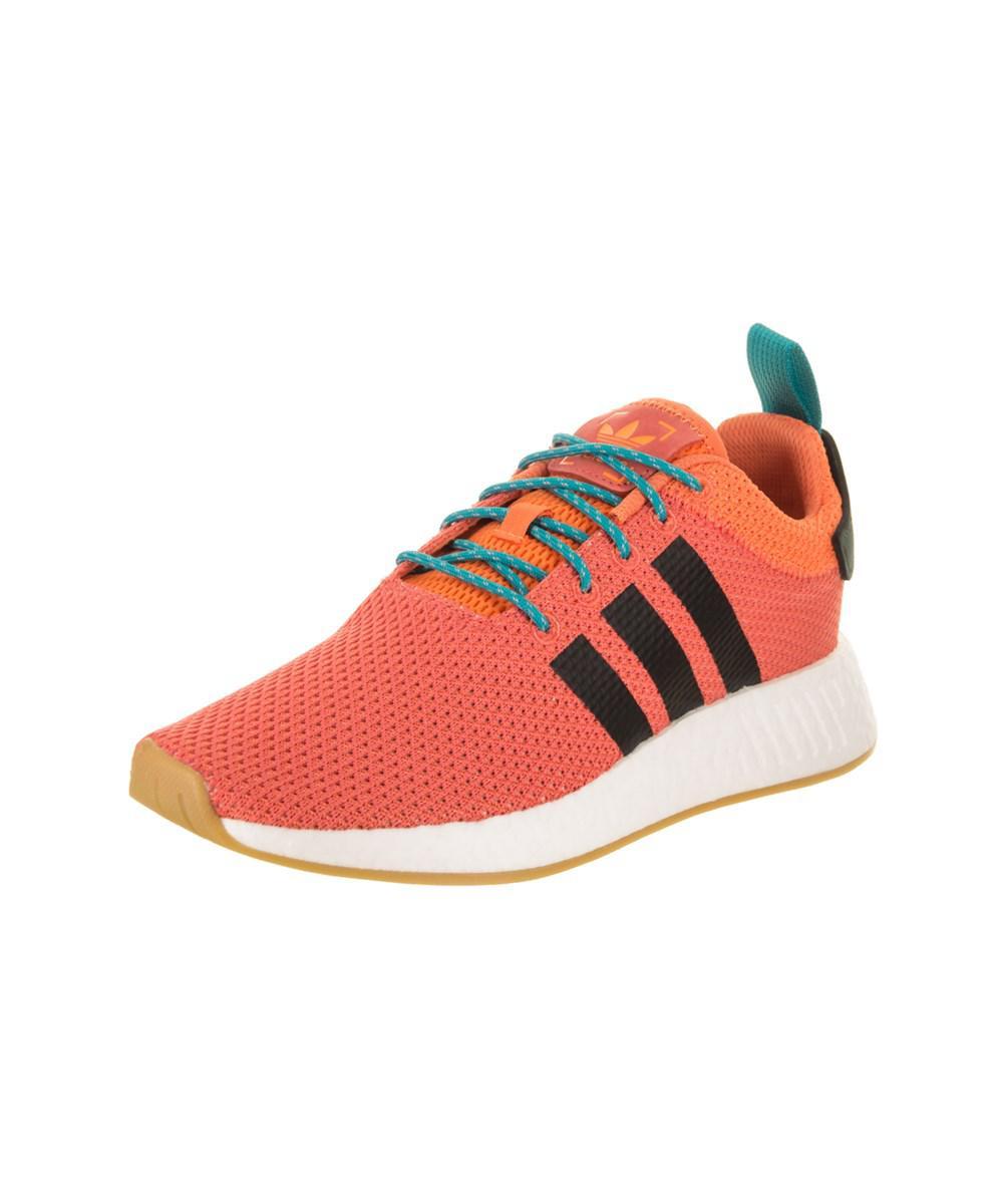 a1ca3f5b1 Lyst - Adidas Men s Nmd r2 Summer Originals Running Shoe in Orange ...