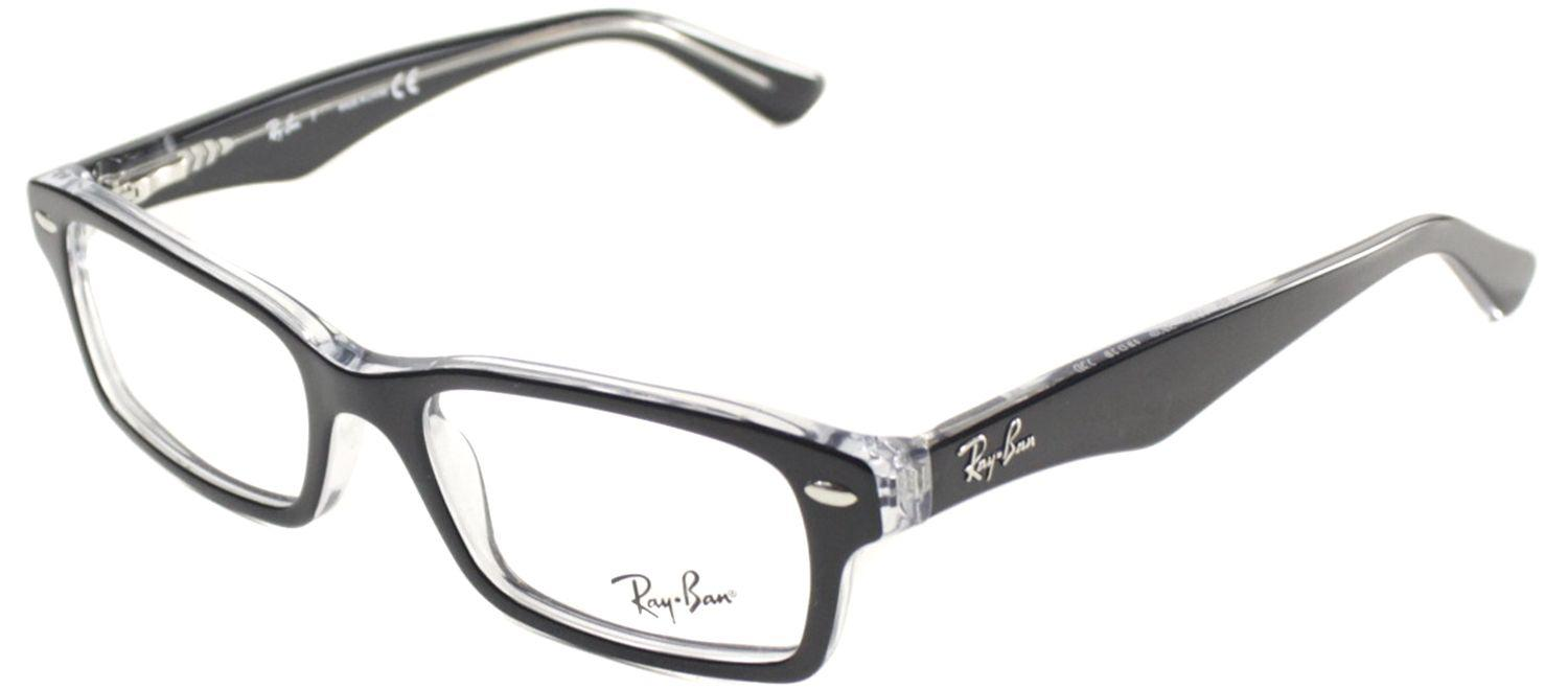 74a867c69f Lyst - Ray-Ban Ry 1530 3529 48mm Black Square Eyeglasses in Black