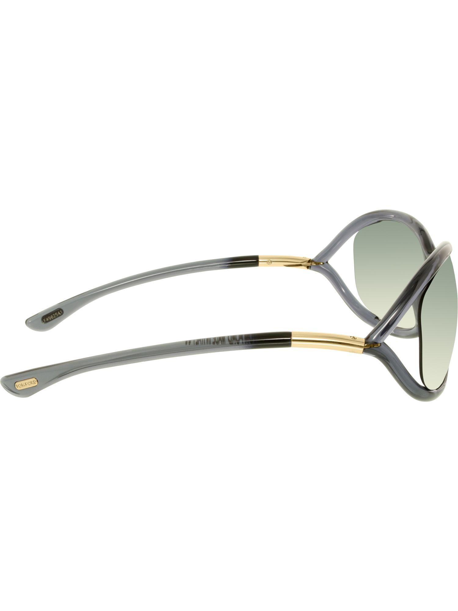 87fc0c5d0e4 Lyst - Tom Ford Women s Gradient Jennifer Ft0008-0b5-61 Black Square  Sunglasses in Black