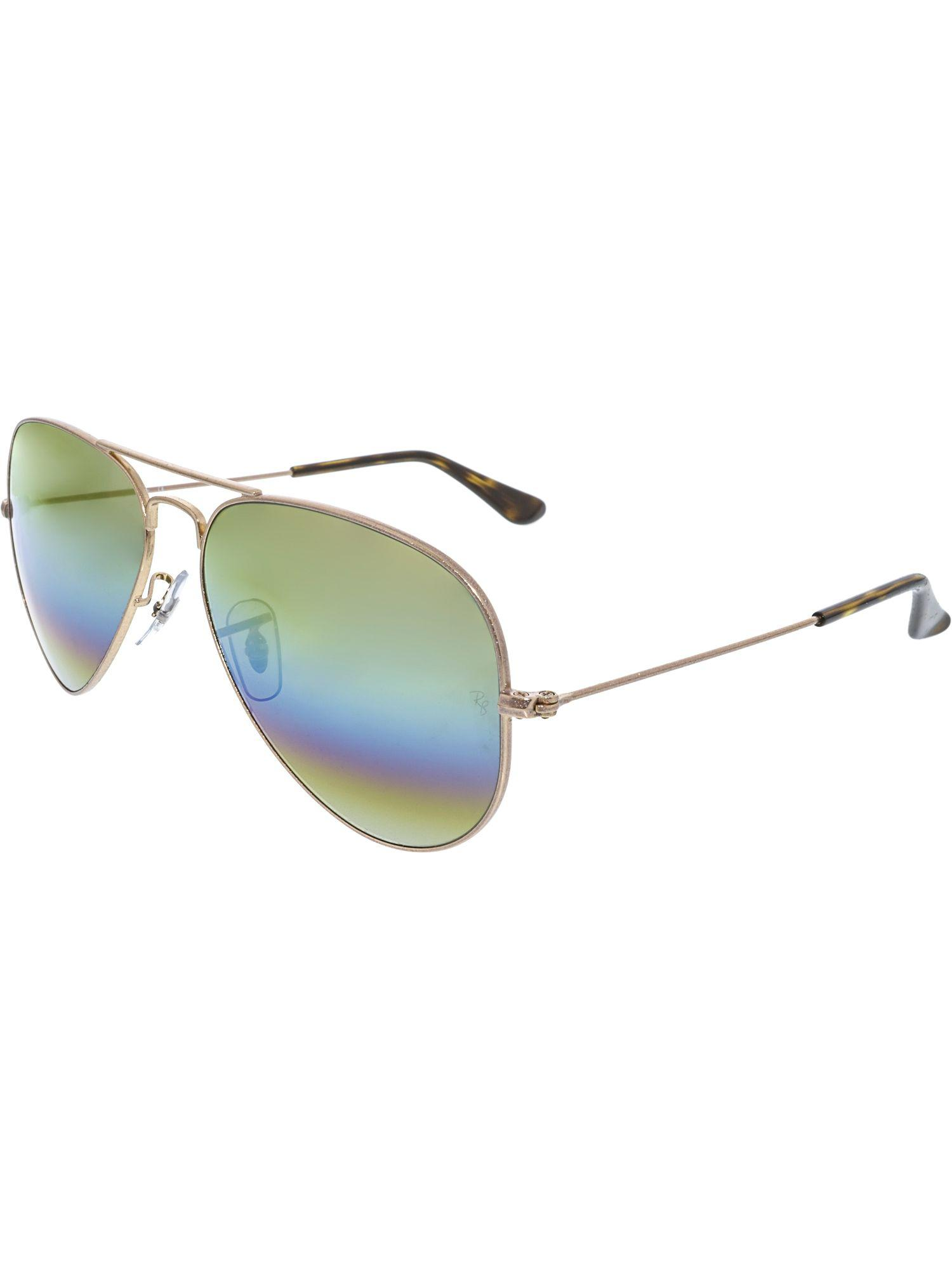 5e0e9392c3a Lyst - Ray-Ban Men s Aviator Rb3025-9020c4-58 Gold Sunglasses for Men