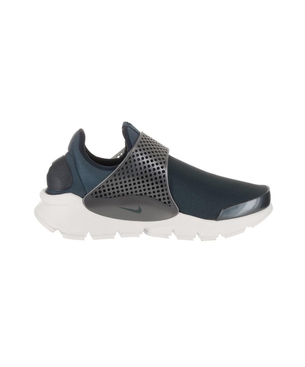 eac5c7d8958fb9 Nike - Blue Women s Sock Dart Prm Txt Running Shoe - Lyst. View fullscreen