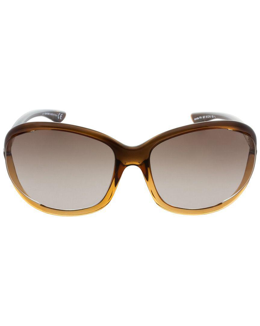 24940590107 Lyst - Tom Ford Women s Jennifer 61mm Sunglasses in Brown