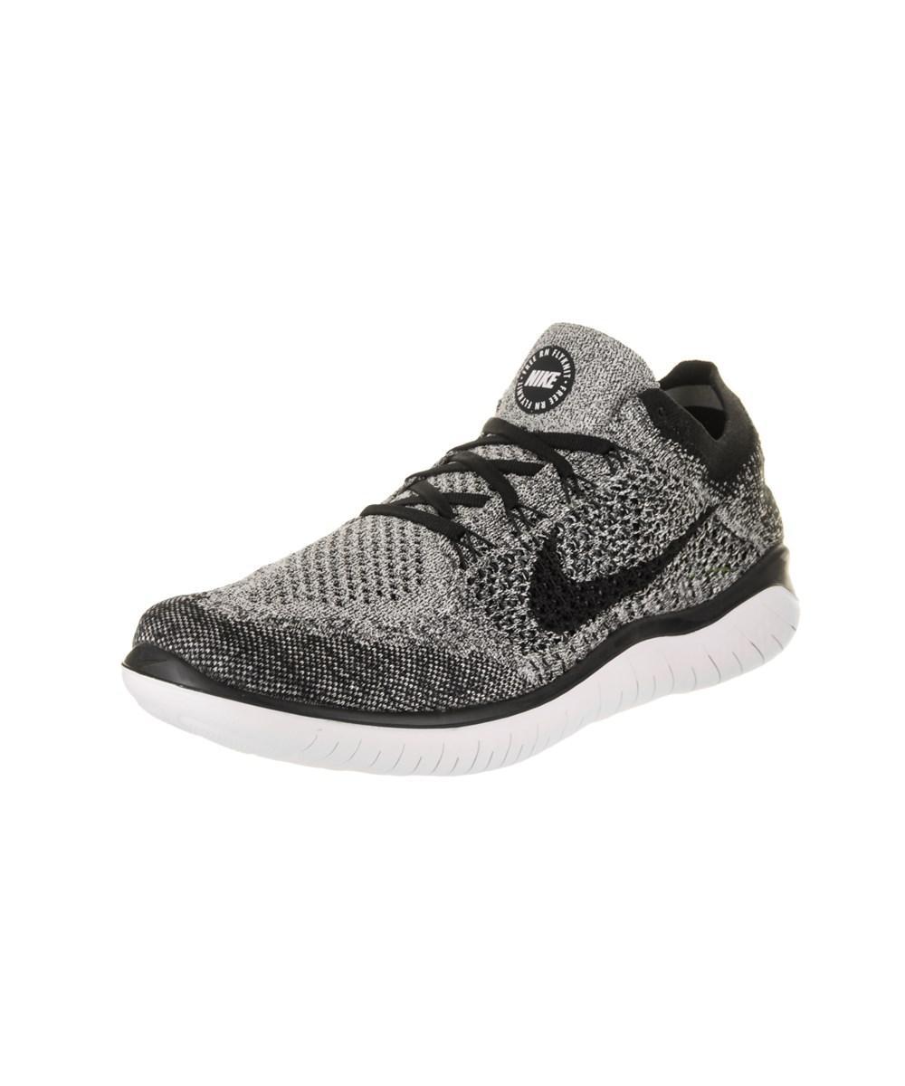 98207cb41c0 Lyst - Nike Men s Free Rn Flyknit 2018 Running Shoe in White for Men