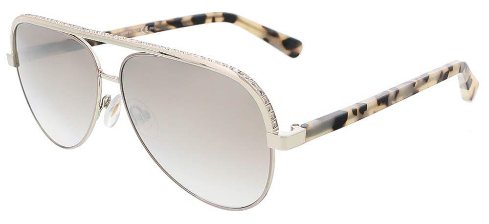 ad7a07cd7c52 Jimmy Choo. Women s Metallic Lina s 0j8b Light Gold Aviator Sunglasses