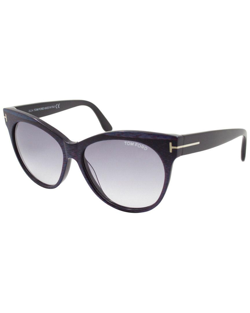 03b9e1d597f2 Tom Ford - Multicolor Saskia 57mm Sunglasses - Lyst. View fullscreen