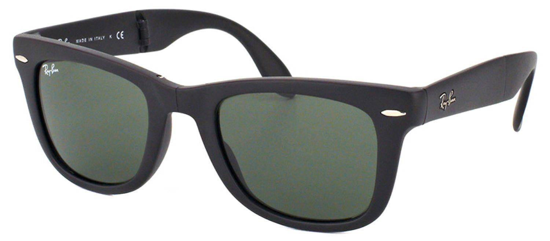 fa88c9da17 Lyst - Ray-Ban Rb 4105 601s 50mm Black Square Sunglasses in Black ...
