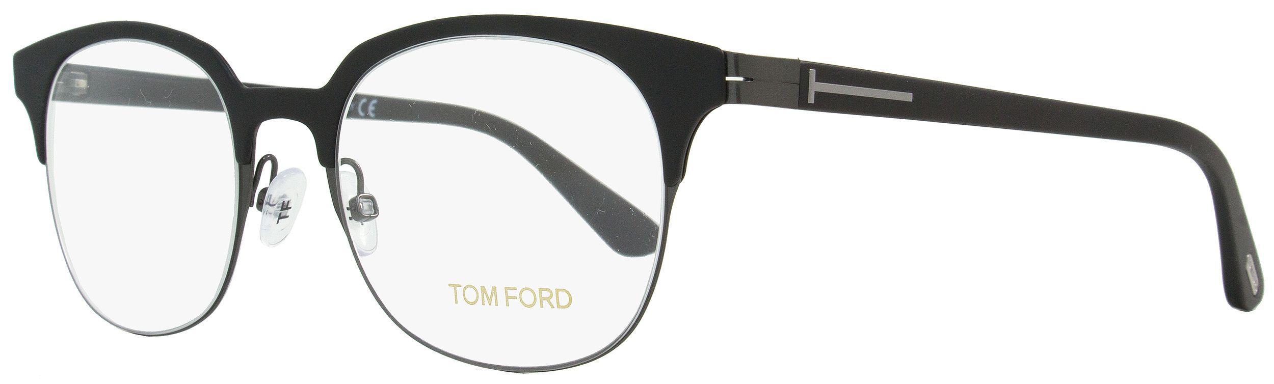 Lyst - Tom Ford Square Eyeglasses Tf5347 001 Size  51mm Black dark ... b6993ab0743a