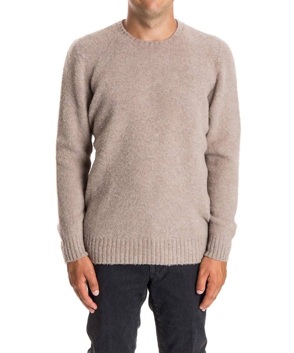 93db03340a6d35 Lyst - Drumohr Men's Beige Wool Sweater in Brown for Men