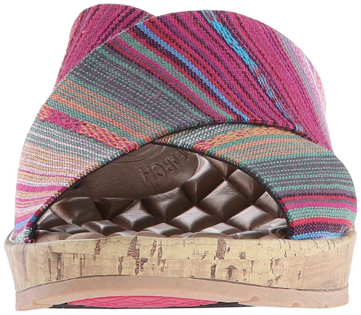 e85fa7439b56 LifeStride - Pink Women s Positive Slide Sandal - Lyst. View fullscreen