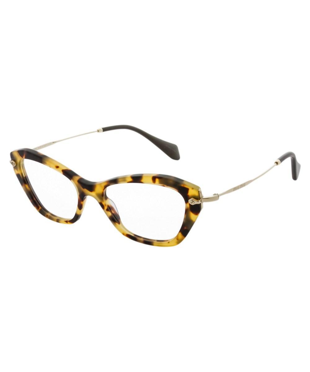 miu miu brown womens mu 04lv 52mm optical frames - Miu Miu Optical Frames