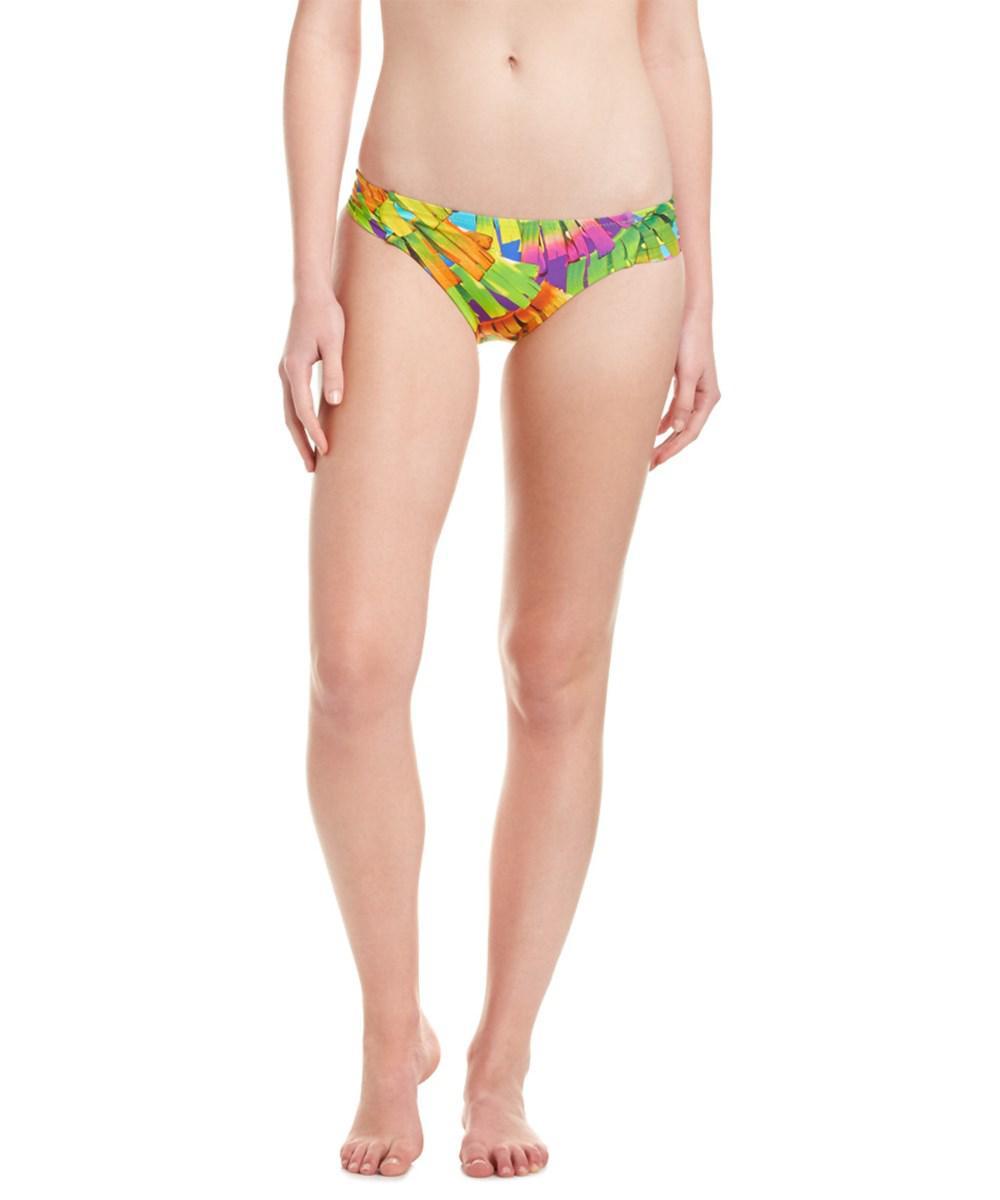 45ec7b34fe355 Lyst - Trina Turk Polynesian Shirred Hipster Bottom - Save 83%