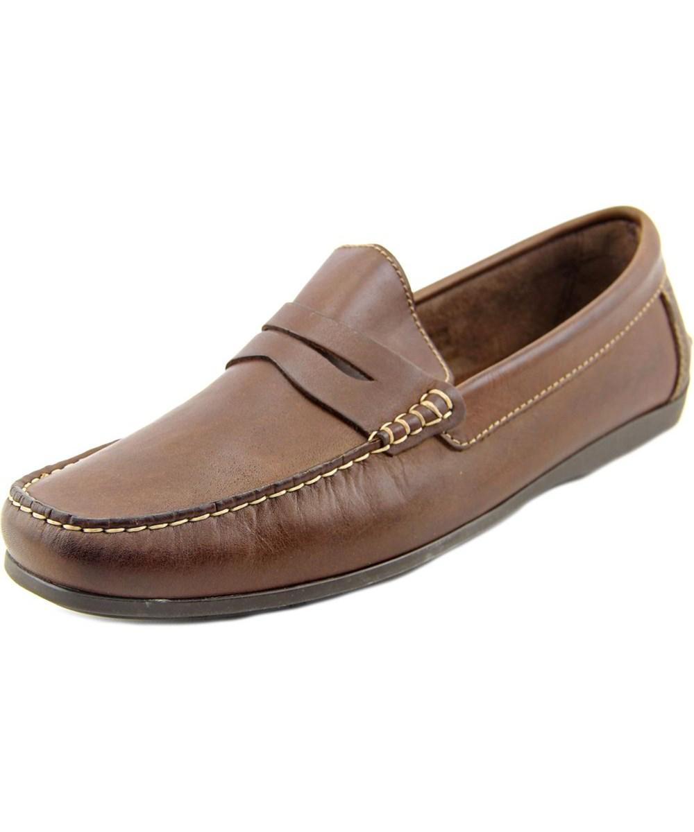 4e5655ab230 Lyst - Florsheim Jasper Penny Men Moc Toe Leather Brown Loafer in ...