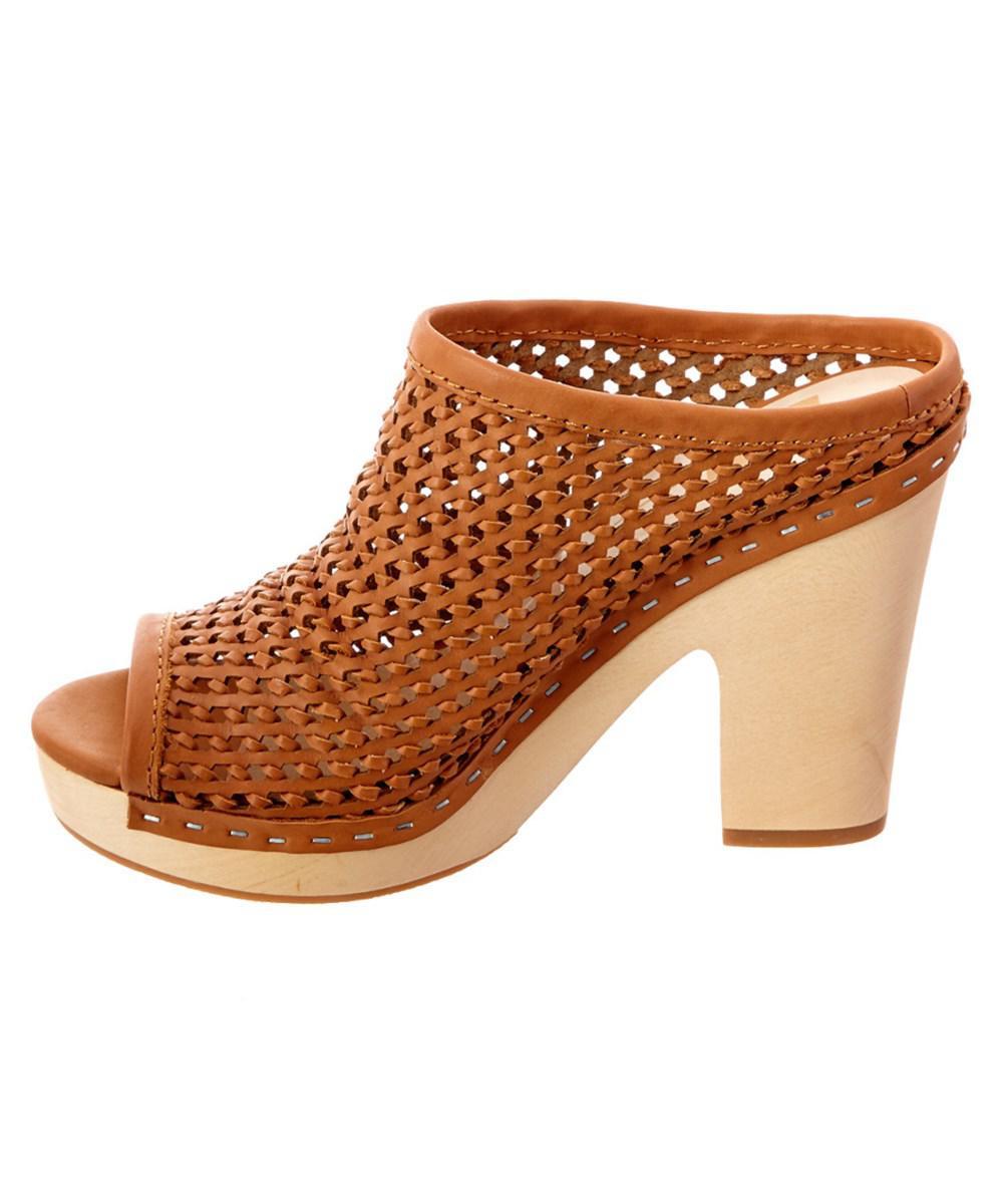 Dolce Vita | Brown Brooks Leather Sandal | Lyst. View Fullscreen