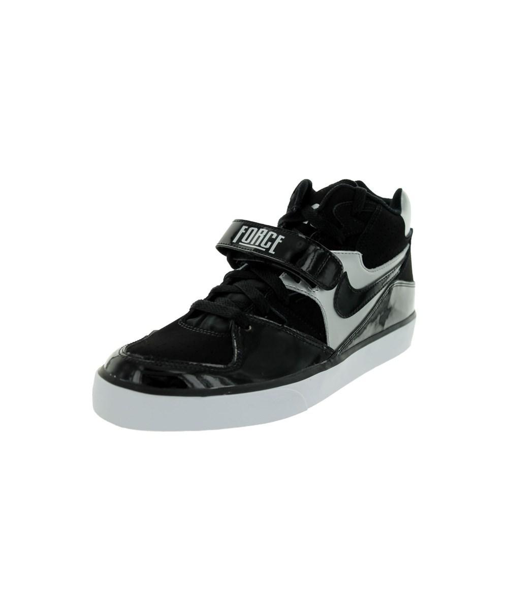 Nike Hombres Auto Force 180 Lyst Mediados De Zapato Negro Casual En Negro Zapato Para Hombres 294d3c