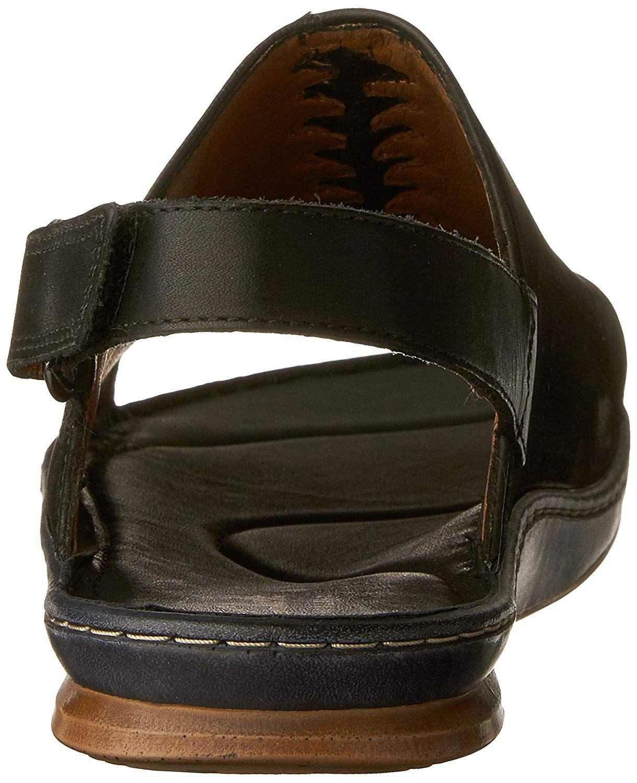 7a7b6ef0a0d Clarks - Black Sarla Forte Womens Flat Slingback Sandals - Lyst. View  fullscreen