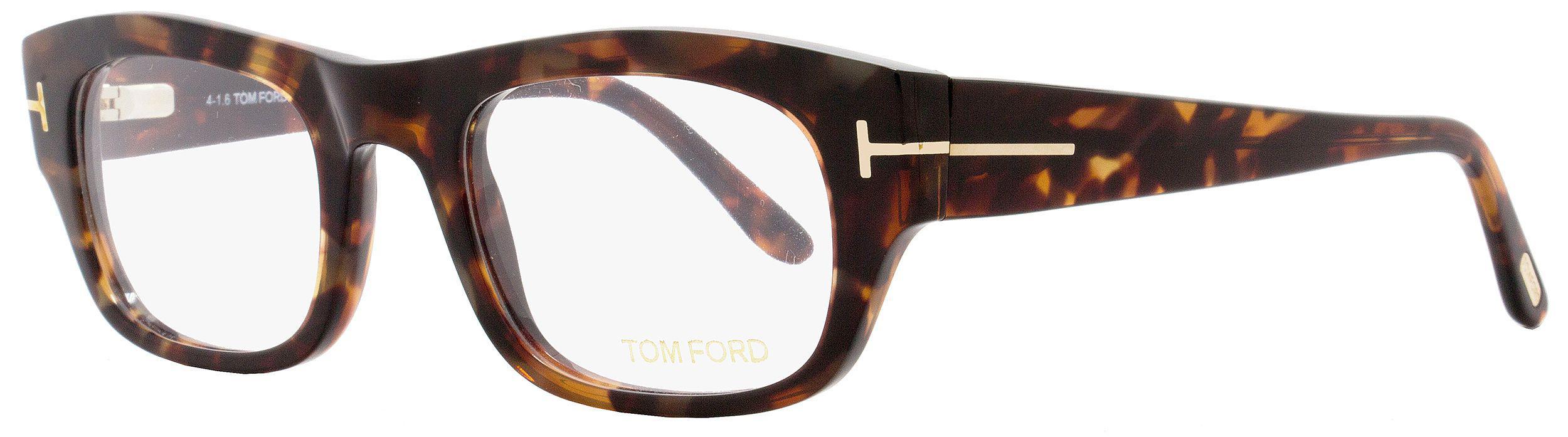2bab88f3a89 Tom Ford - Multicolor Rectangular Eyeglasses Tf5415 054 Size  50mm Red  Havana gold Ft5415. View fullscreen