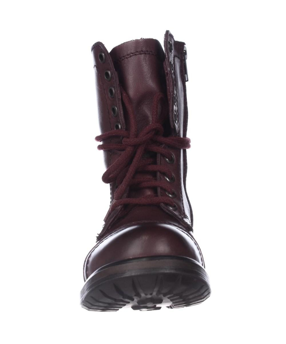61288b983cf Steve Madden Tropa2 Combat Boots - Wine in Red for Men - Lyst