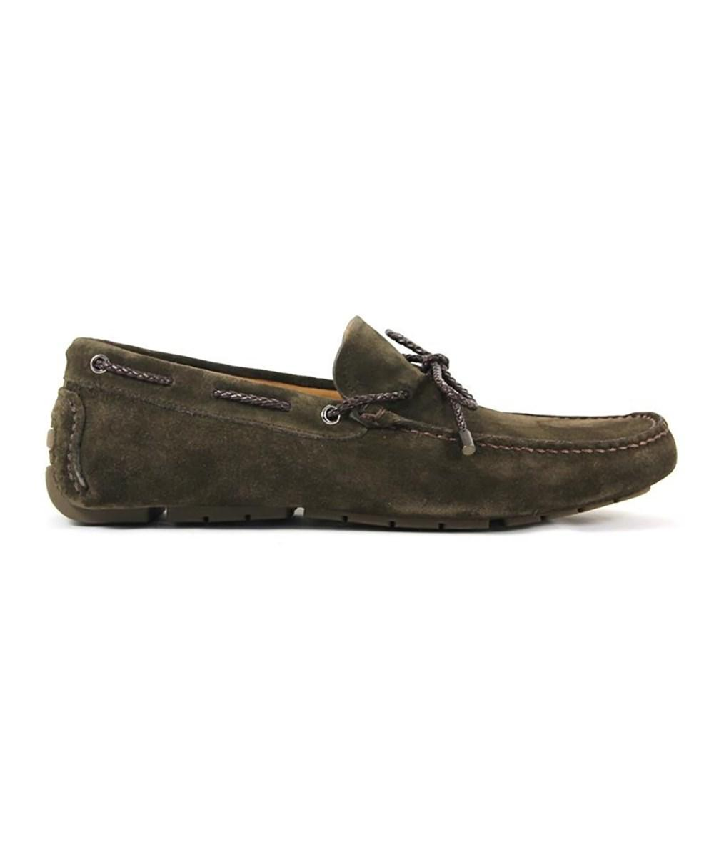 Men's 99902 Green Suede Loafers