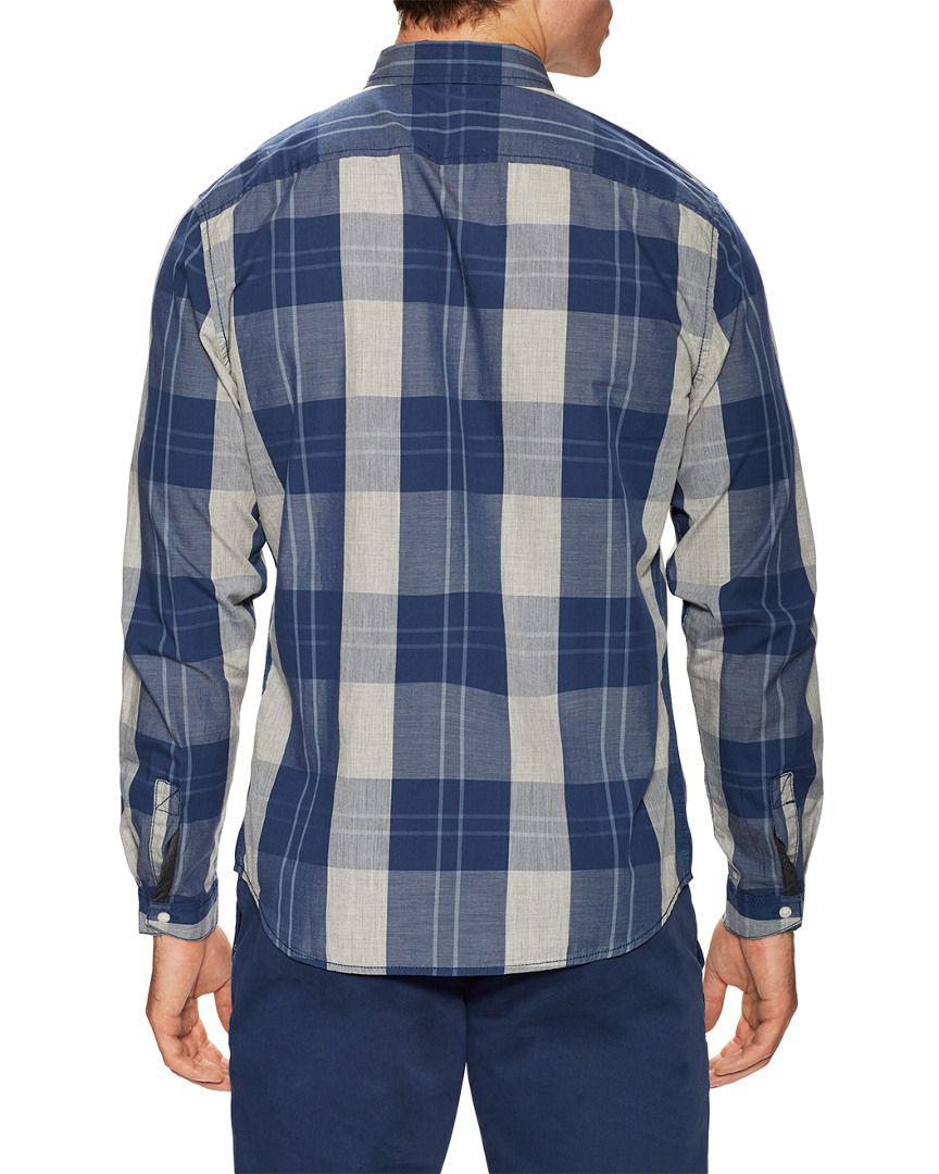 Lyst - Life After Denim Life after denim Beacon Sportshirt in Blue for Men  - Save 70.40816326530611% 6532ebe80